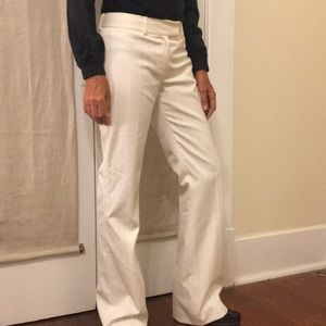 ANTONIO MELANI striped trousers, size 2